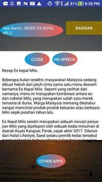RESEP ES KEPAL MILO screenshot 1
