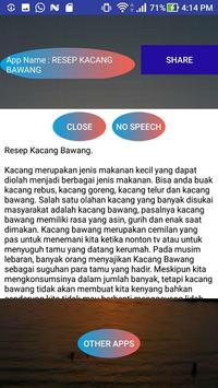RESEP KACANG BAWANG screenshot 1
