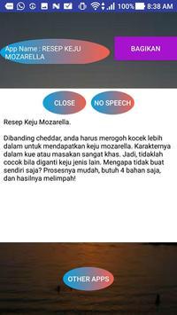 RESEP KEJU MOZARELLA screenshot 1