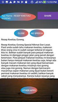 RESEP KWETIAU GORENG screenshot 1