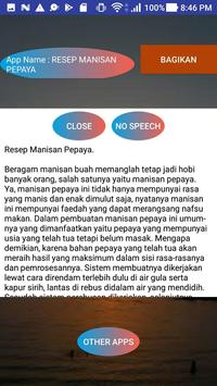 RESEP MANISAN PEPAYA screenshot 1