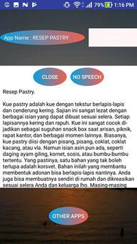 RESEP PASTRY screenshot 1