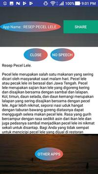 RESEP PECEL LELE screenshot 1