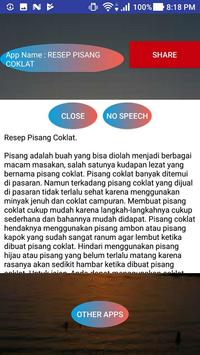 RESEP PISANG COKLAT screenshot 1