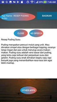 RESEP PUDING SUSU screenshot 1