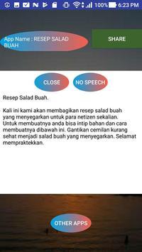 RESEP SALAD BUAH screenshot 1