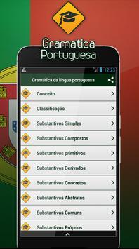 Gramática da língua portuguesa screenshot 1