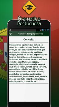 Gramática da língua portuguesa screenshot 2
