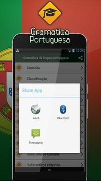 Gramática da língua portuguesa screenshot 3