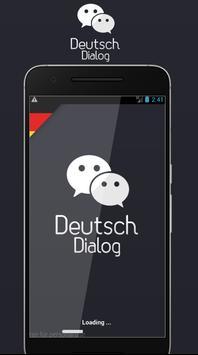 Deutsch Dialog Lernen poster