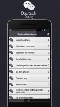 Deutsch Dialog Lernen screenshot 1