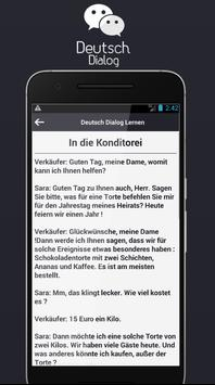 Deutsch Dialog Lernen screenshot 2