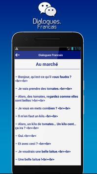 Dialogues Francais screenshot 2