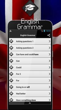 English Grammar screenshot 1
