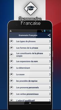 Grammaire Française screenshot 1