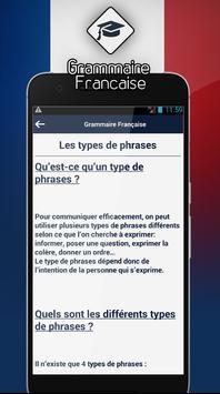 Grammaire Française screenshot 2