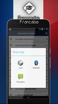 Grammaire Française screenshot 3