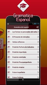 Gramática Del Español screenshot 1