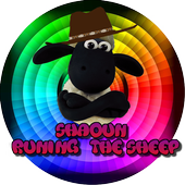 Shaoun runing the sheep icon