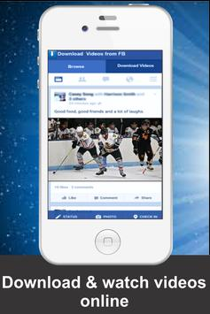 HD Fast Video downloaded for Facebook free screenshot 7