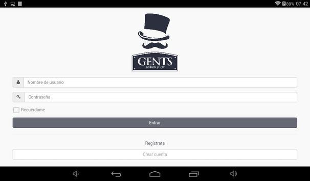GENTS apk screenshot