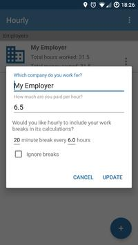 Hourly - Automatic work logger (Unreleased) poster