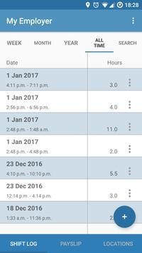 Hourly - Automatic work logger (Unreleased) screenshot 1