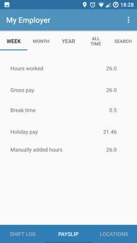 Hourly - Automatic work logger (Unreleased) screenshot 2