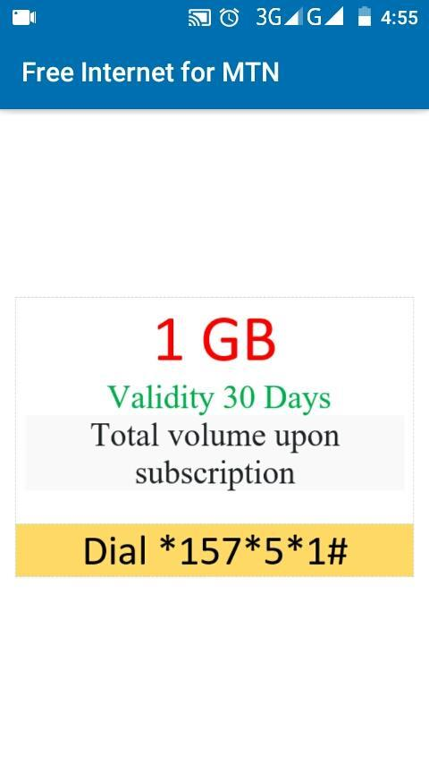 Free Internet for MTN for Android - APK Download