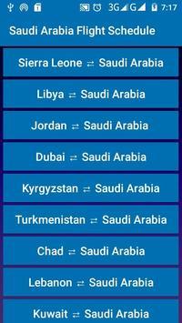 Saudi Arabia Flight Schedule screenshot 3