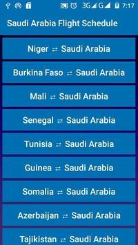 Saudi Arabia Flight Schedule screenshot 2