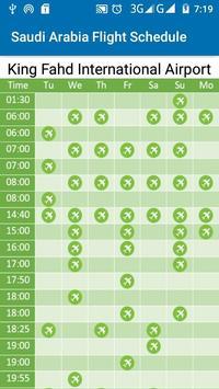 Saudi Arabia Flight Schedule screenshot 7