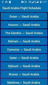 Saudi Arabia Flight Schedule screenshot 4