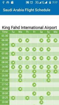 Saudi Arabia Flight Schedule screenshot 5