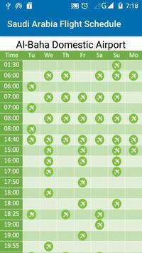 Saudi Arabia Flight Schedule screenshot 6