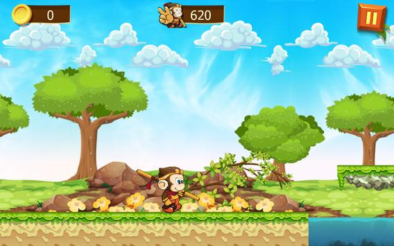 banana monkey run apk screenshot