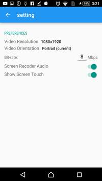 Screen Recorder- ScreenshotVideo -No Root apk screenshot