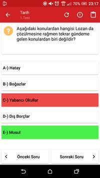 2018 KPSS Genel Kültür Soruları screenshot 5