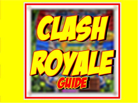 Guide Clash Royale poster