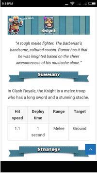 Guide Clash Royale screenshot 1
