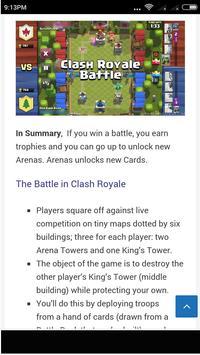 Guide Clash Royale screenshot 2
