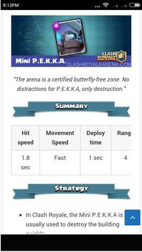 Guide Clash Royale screenshot 3