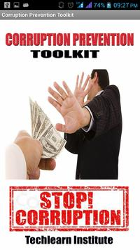 Corruption Prevention ToolKit poster