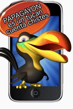 chistes: Papagayon el tucan poster