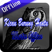 Kicau Burung Hantu Master Offline icon