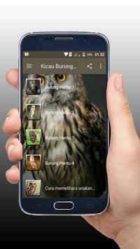 Kicau Burung Hantu Master Offline screenshot 1