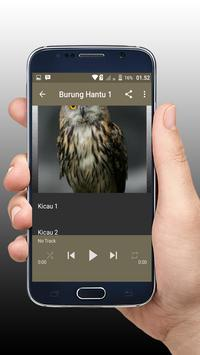 Kicau Burung Hantu Master Offline screenshot 2