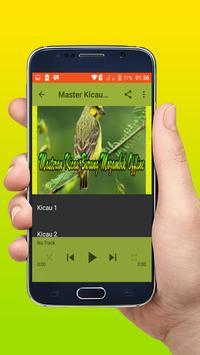 Masteran Kicau Burung Mozambik Offline apk screenshot