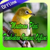 Masteran Pleci Tembakan Variasi Offline icon