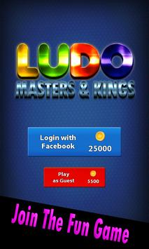 Ludo Masters & Kings poster